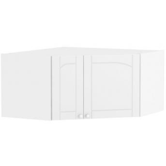 437_Антресоль шкафа углового Meblik белый