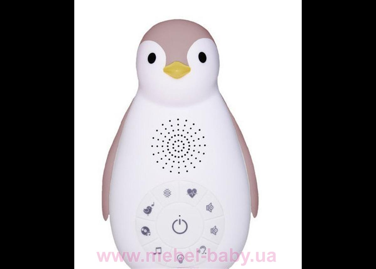 Zazu ZOE (ЗОЕ) Пингвинёнок Bluetooth (розовый)