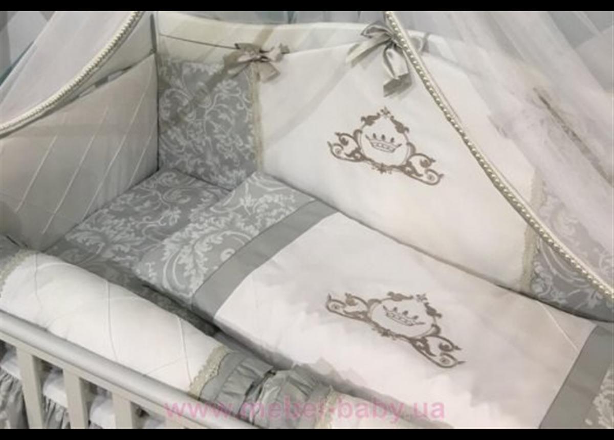 Сменный комплект постельного белья Mon bell  L'collection  серый