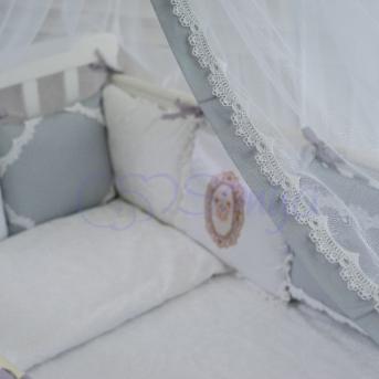 Сменный комплект постельного белья Mon Cheri серый