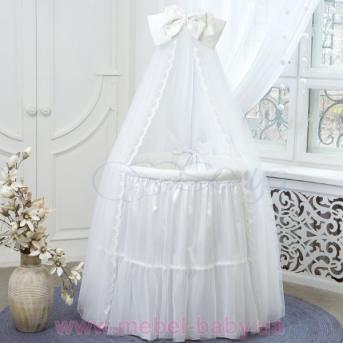 Набор постельного белья Ovaldress L'collection (7 предметов) белый Маленькая Соня
