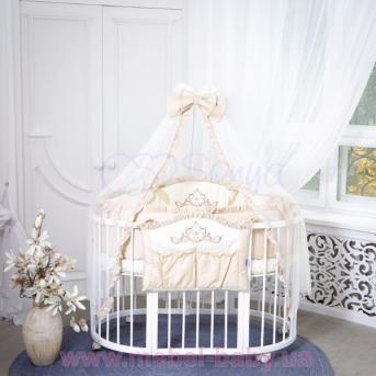 Набор постельного белья Mon Amie (6 предметов) кофейный Маленькая Соня