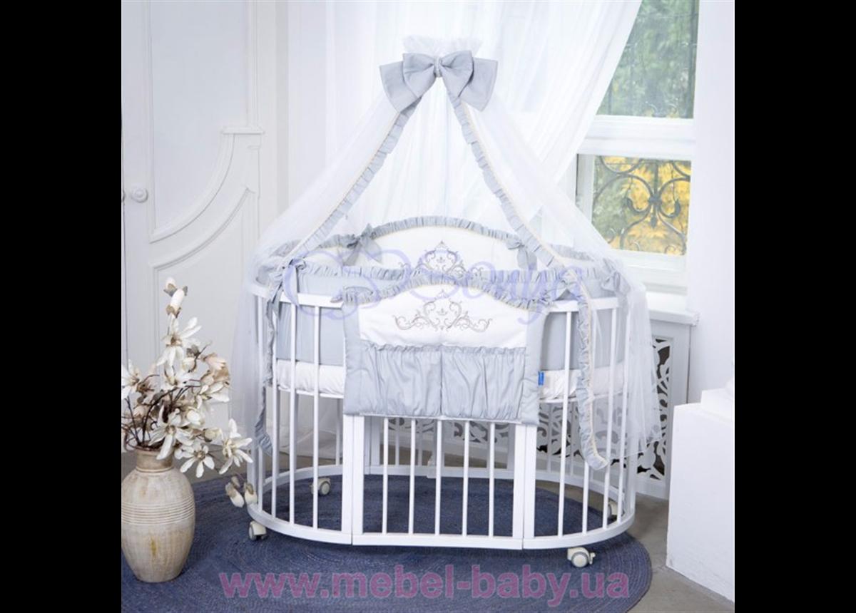 Набор постельного белья Mon Amie (7 предметов) серый Маленькая Соня