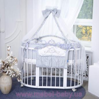 Набор постельного белья Mon Amie (6 предметов) серый Маленькая Соня