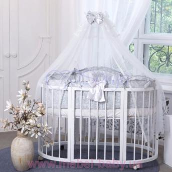 Набор постельного белья All Baby (7 предметов) серый Маленькая Соня