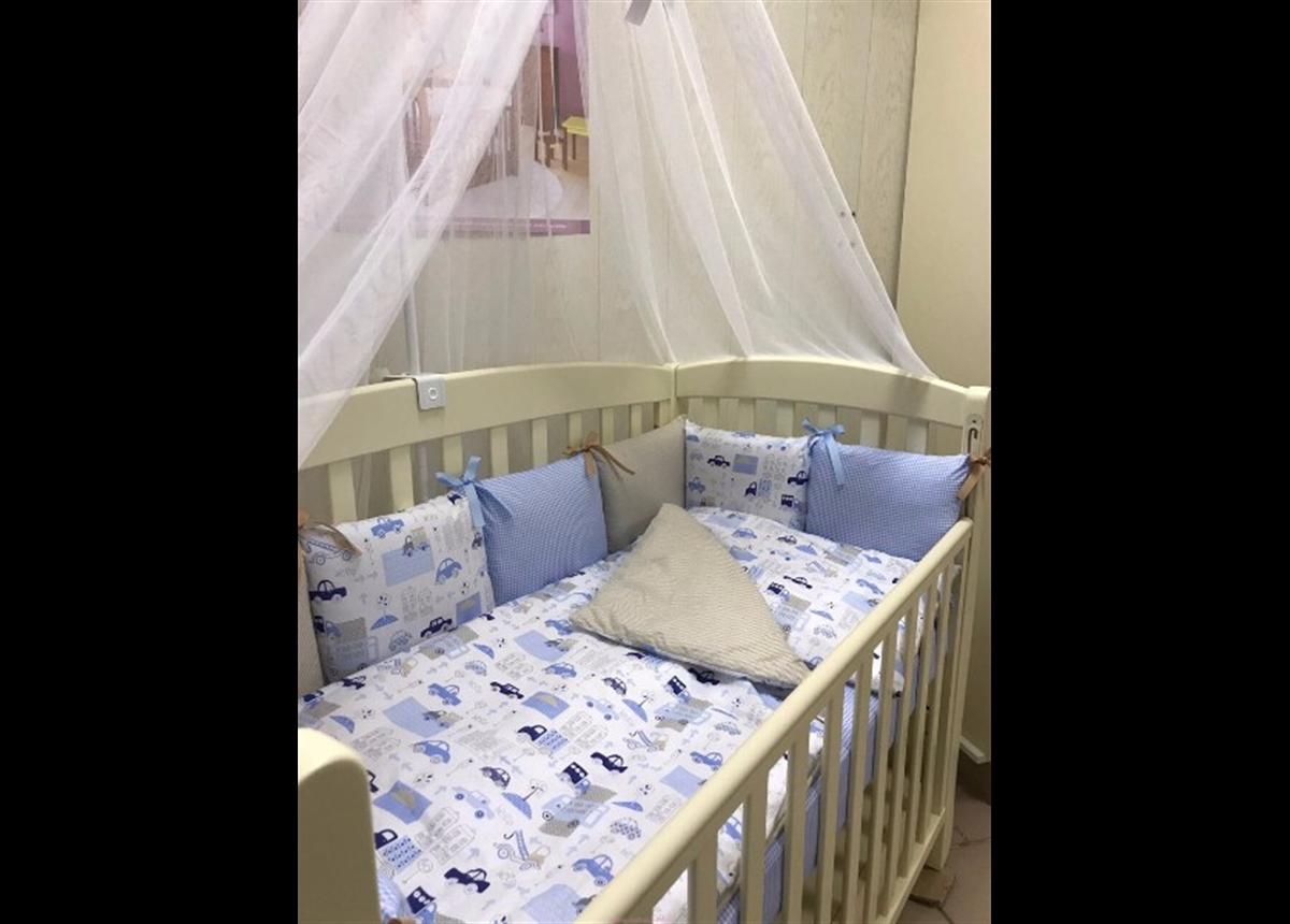 Набор постельного белья Беби дизайн премиум (7 предметов) City Маленькая Соня
