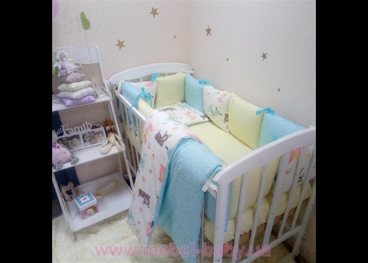 Набор постельного белья Беби дизайн премиум (7 предметов) Bambi Маленькая Соня