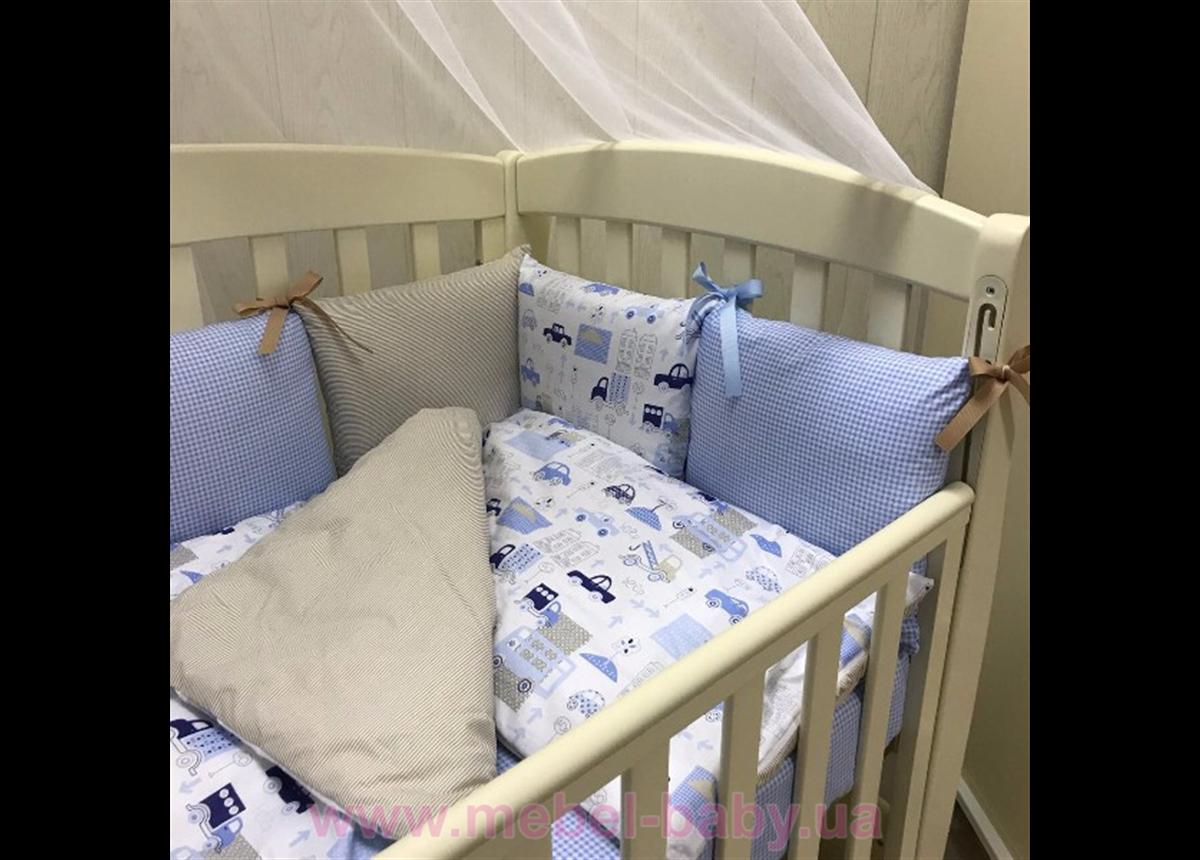 Сменный комплект постельного белья  Baby Design премиум City Маленькая Соня
