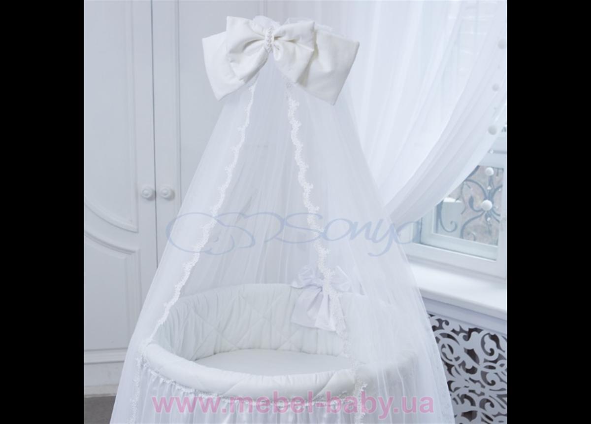Балдахин Ovaldress L'collection белый Маленькая Соня