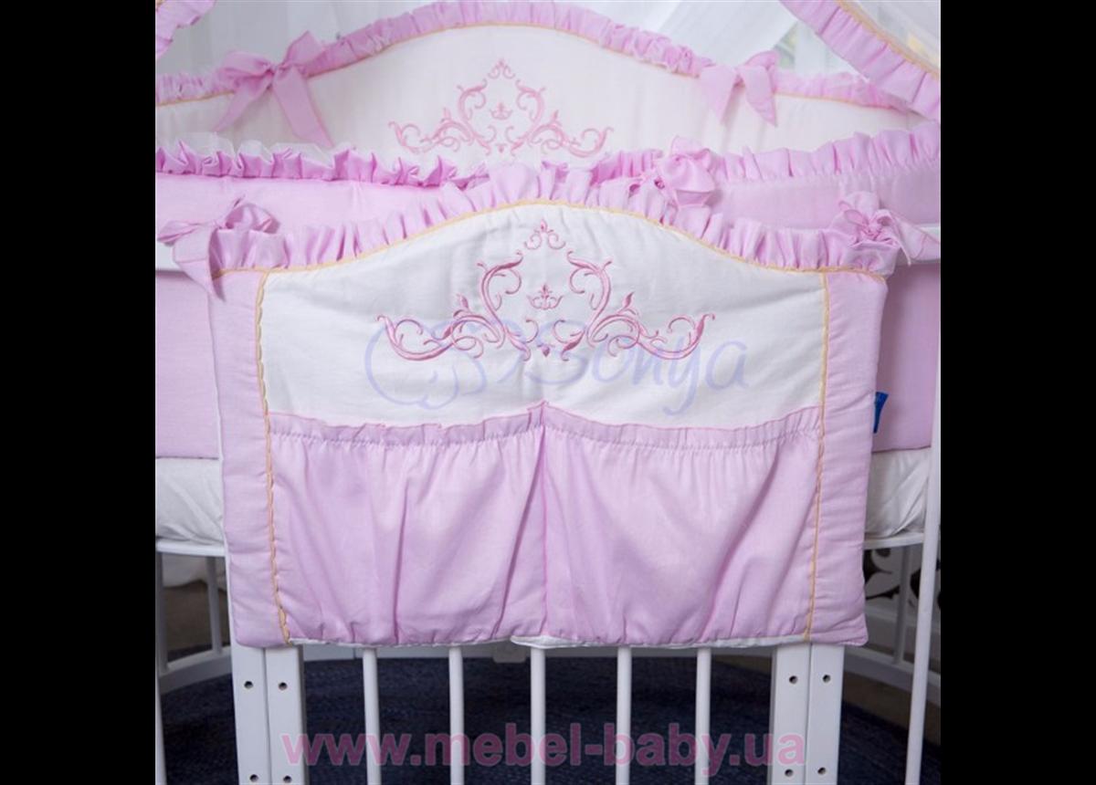 Карман Mon Amie розовый Маленькая Соня
