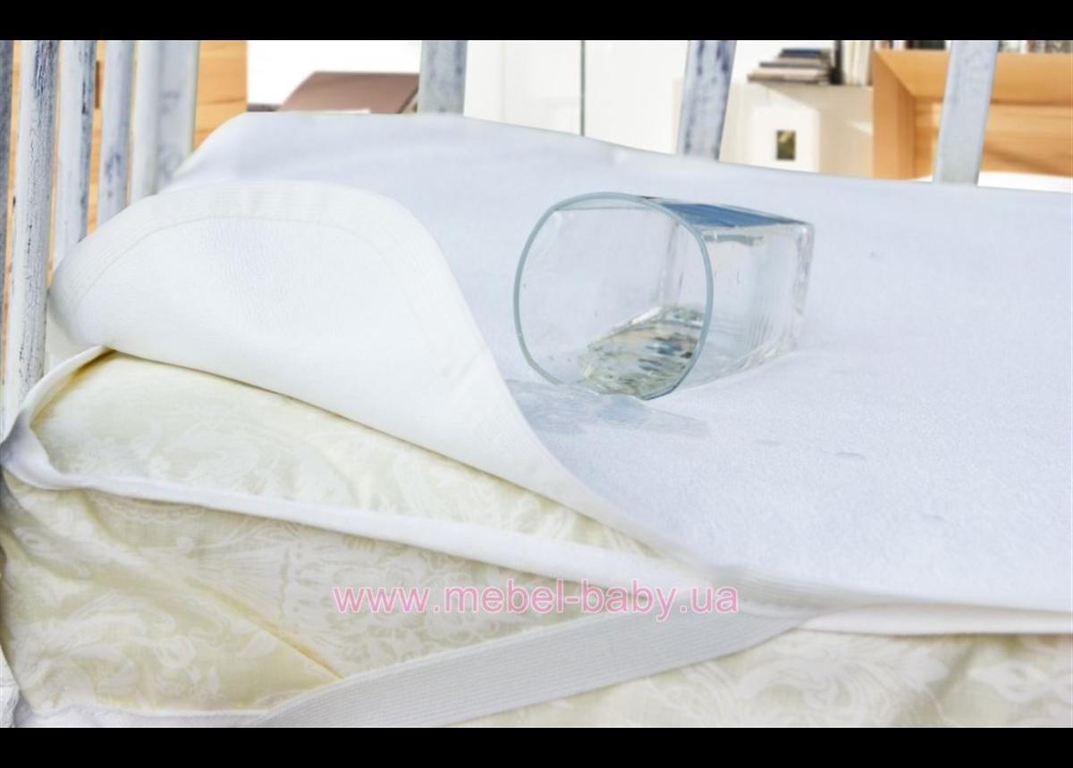 Непромокаючий наматрацник AQUA STOP 60*120 білий Idea