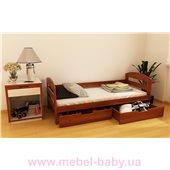 Кровать-диванчик Винни (масcив) Луна 90x190