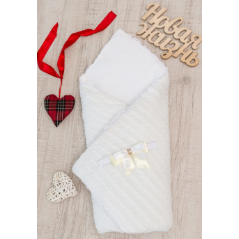 Конверт-одеяло вязка+махра 8-02 Добрый Сон
