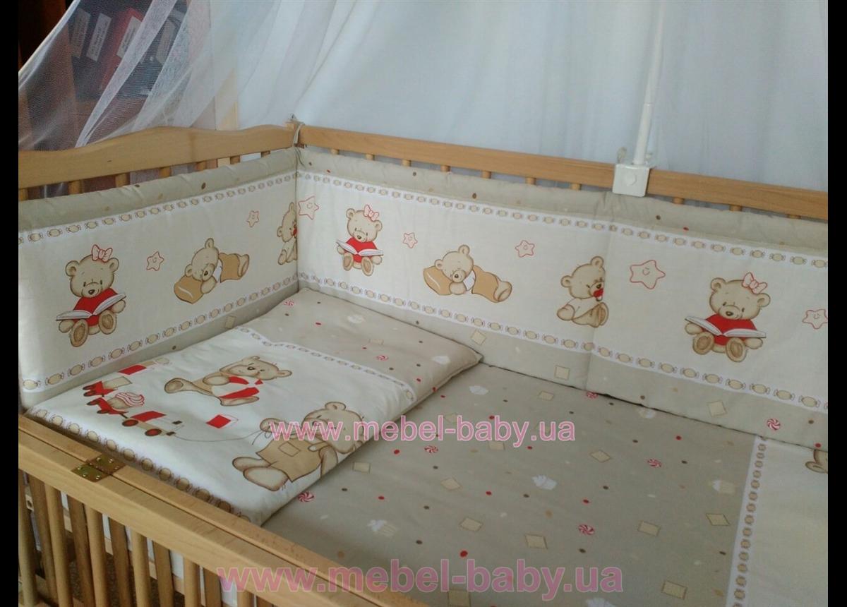 ДБ004 Спальний набір у дитяче ліжко (балдахін фатин)