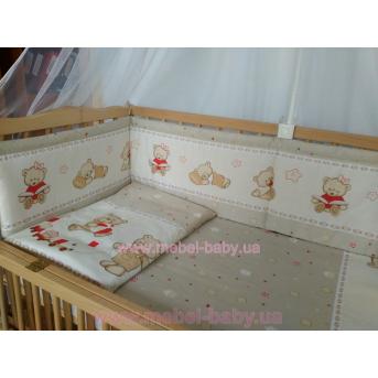 ДБ004/1 Спальный набор в детскую кровать (без балдахина)