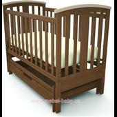 Кроватка с универсальным маятником Mia Woodman 60х120
