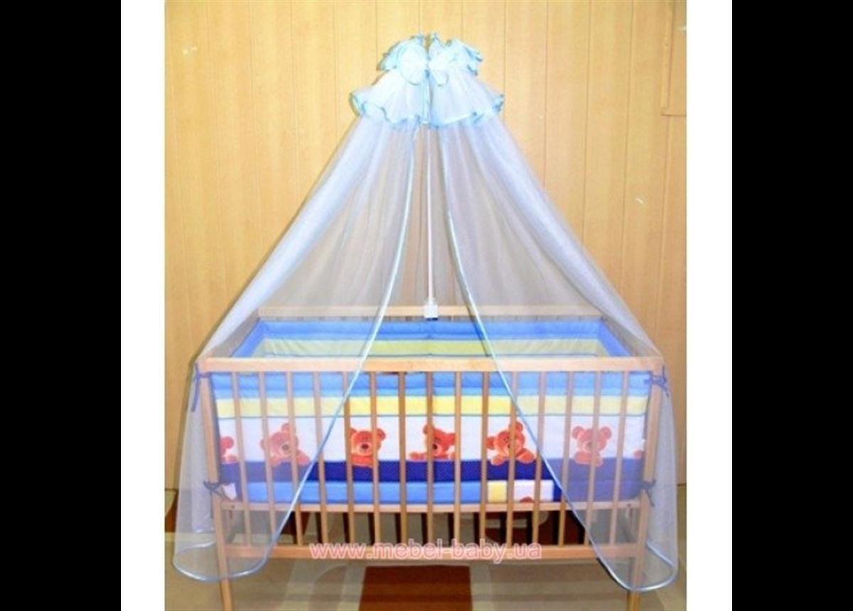 ДБ003 Спальный набор в детскую кровать (балдахин фатин)