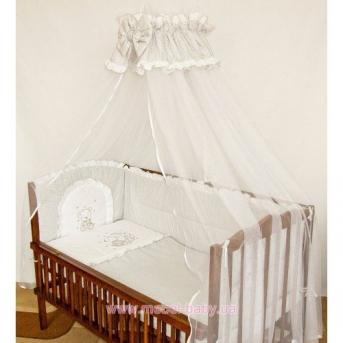 ДБ030 Спальный набор в детскую кровать (вышивка)