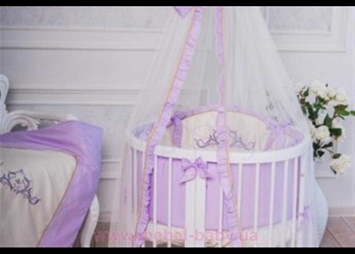 Набор постельного белья Mon Amie (7 предметов) лиловый