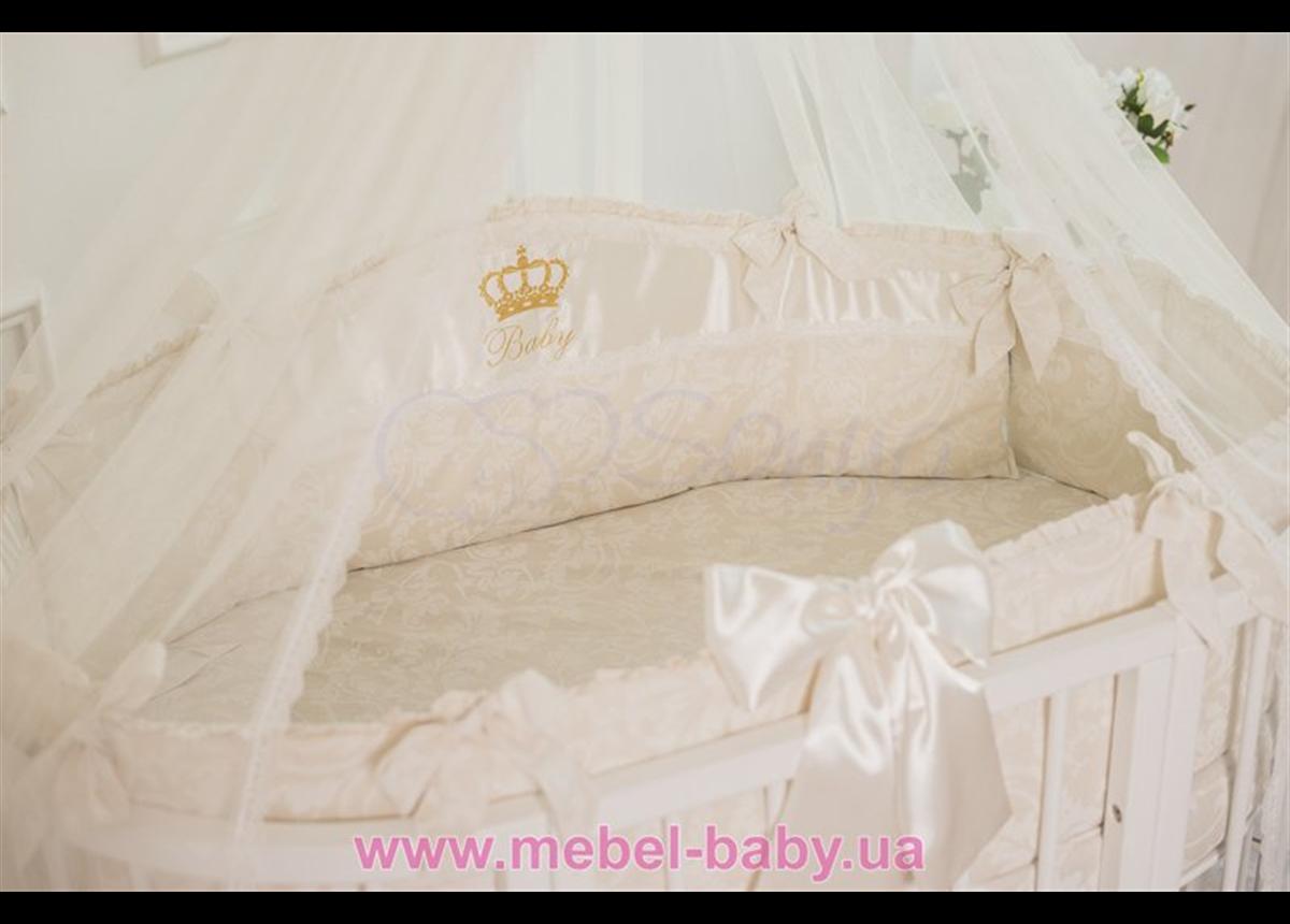 Спальный комплект постельного белья All Baby кофейный