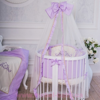 Спальный комплект постельного белья Mon Amie лиловый