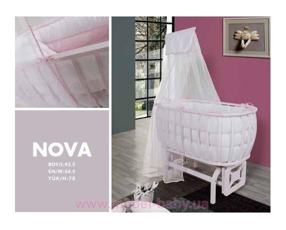 Круглая кроватка Нова Mamma
