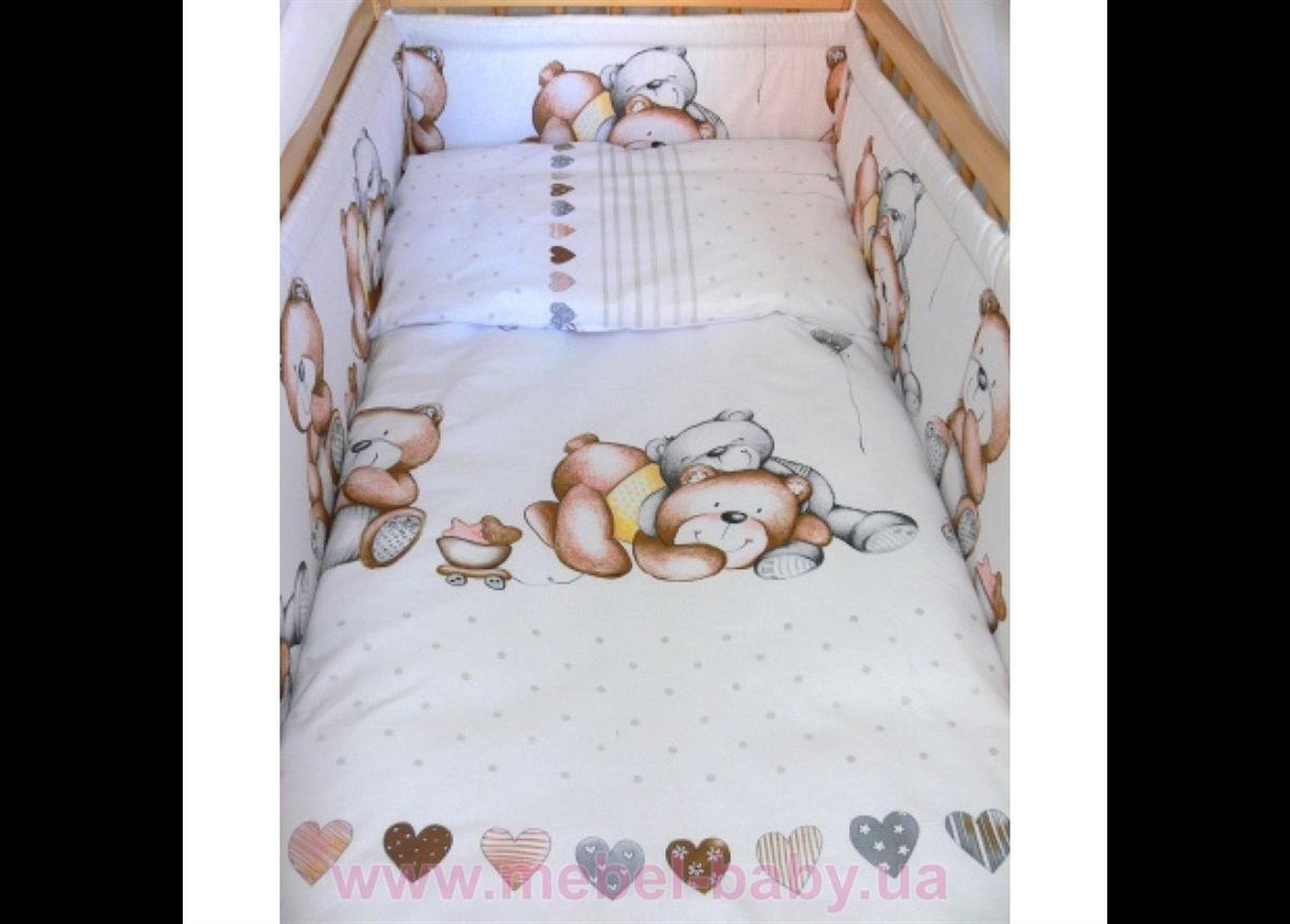 """ДБ017 Спальный набор в детскую кроватку """"Бим Бом"""""""