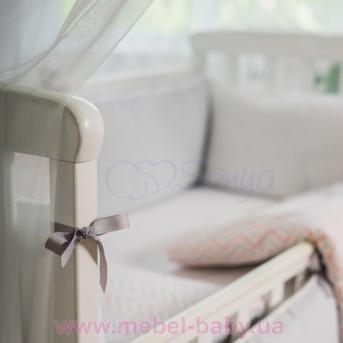 Набор постельного белья Mi-mi-mi (6 предметов) розовый