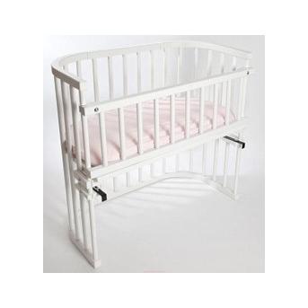 Приставная кроватка для новорожденных Multi-bed Premium макси Поляна сказок Ольха Белая 55x100