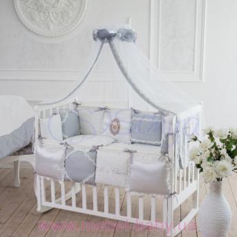Набор постельного белья Mon Cheri (7 предметов) серый