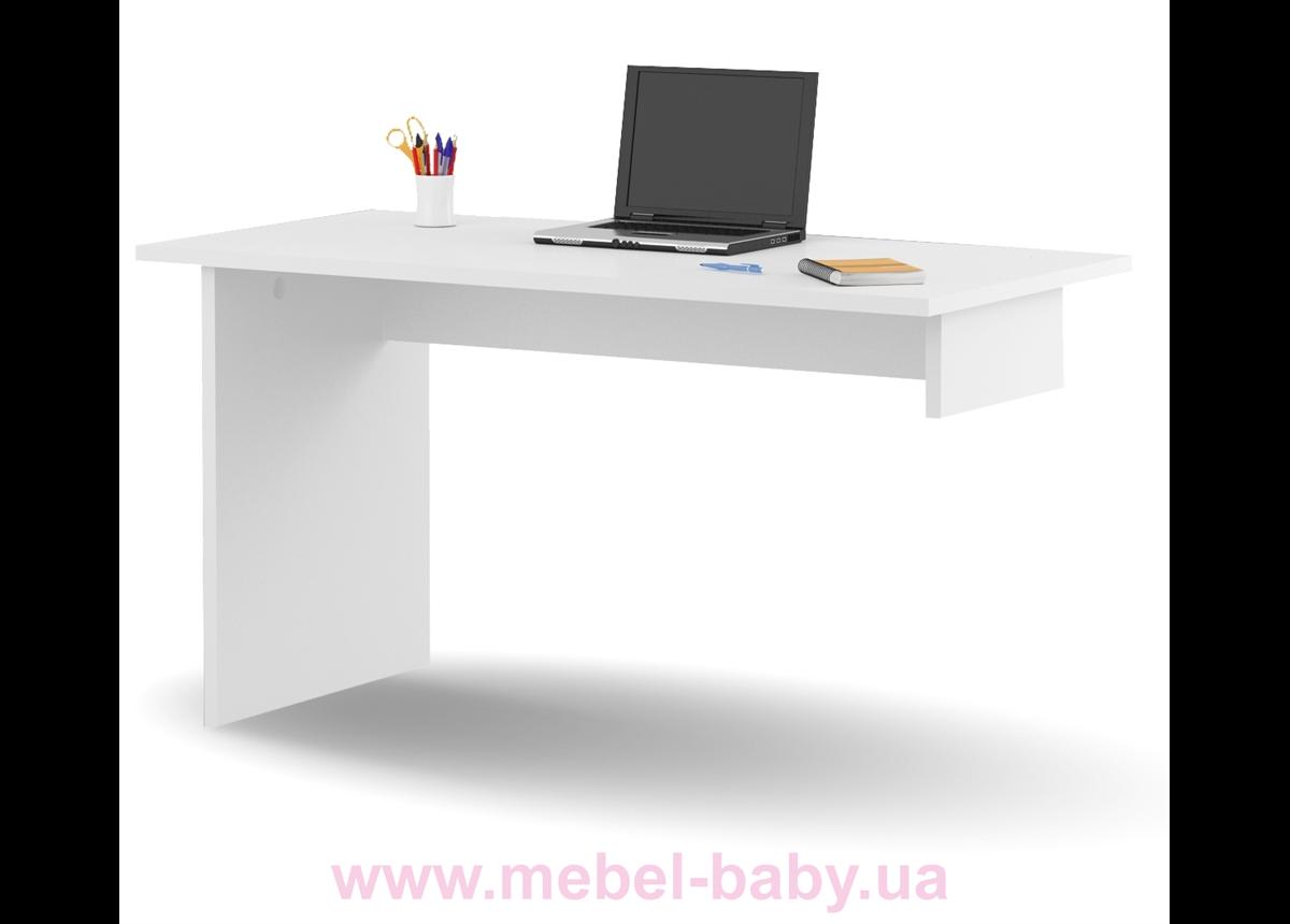 452_Письменный стол YO 125 Mix Meblik white