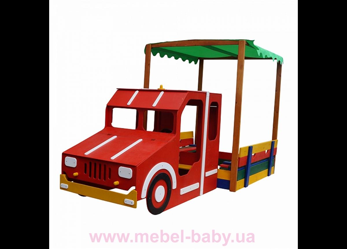 Песочница - Пожарная машина Песочница -17 Sportbaby