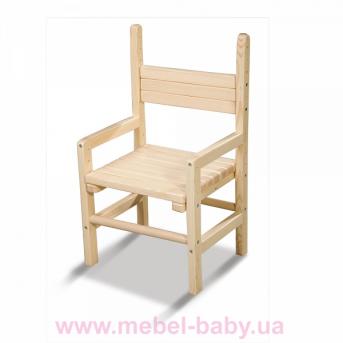 Детский стульчик растущий сосна 28-32-36 Kinder-1 Sportbaby