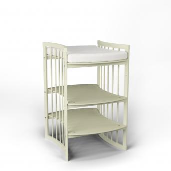 Пеленальный столик-трансформер 5 в 1 BABYCARE IngVart  сл. кость