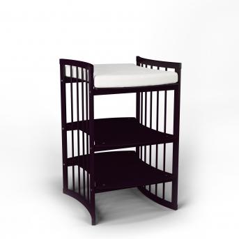 Пеленальный столик-трансформер 5 в 1 BABYCARE IngVart  венге
