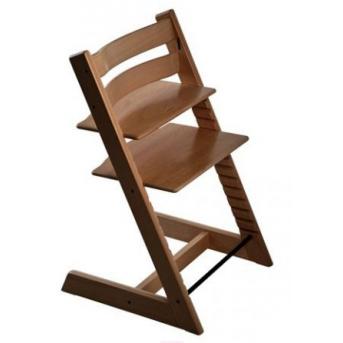Детский растущий стульчик BABYFIX IngVart темный орех