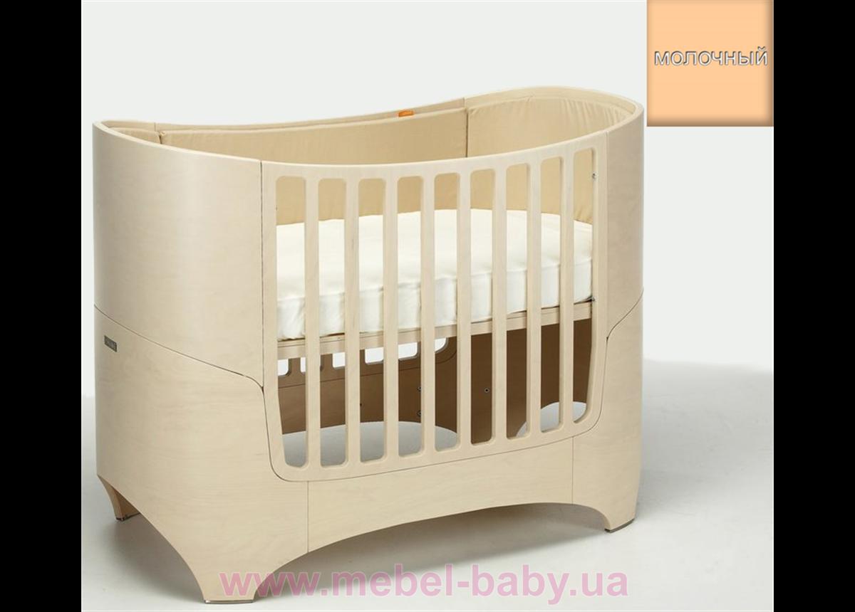 Кроватка Futurbaby 5-в-1 IngVart молочный 70x120