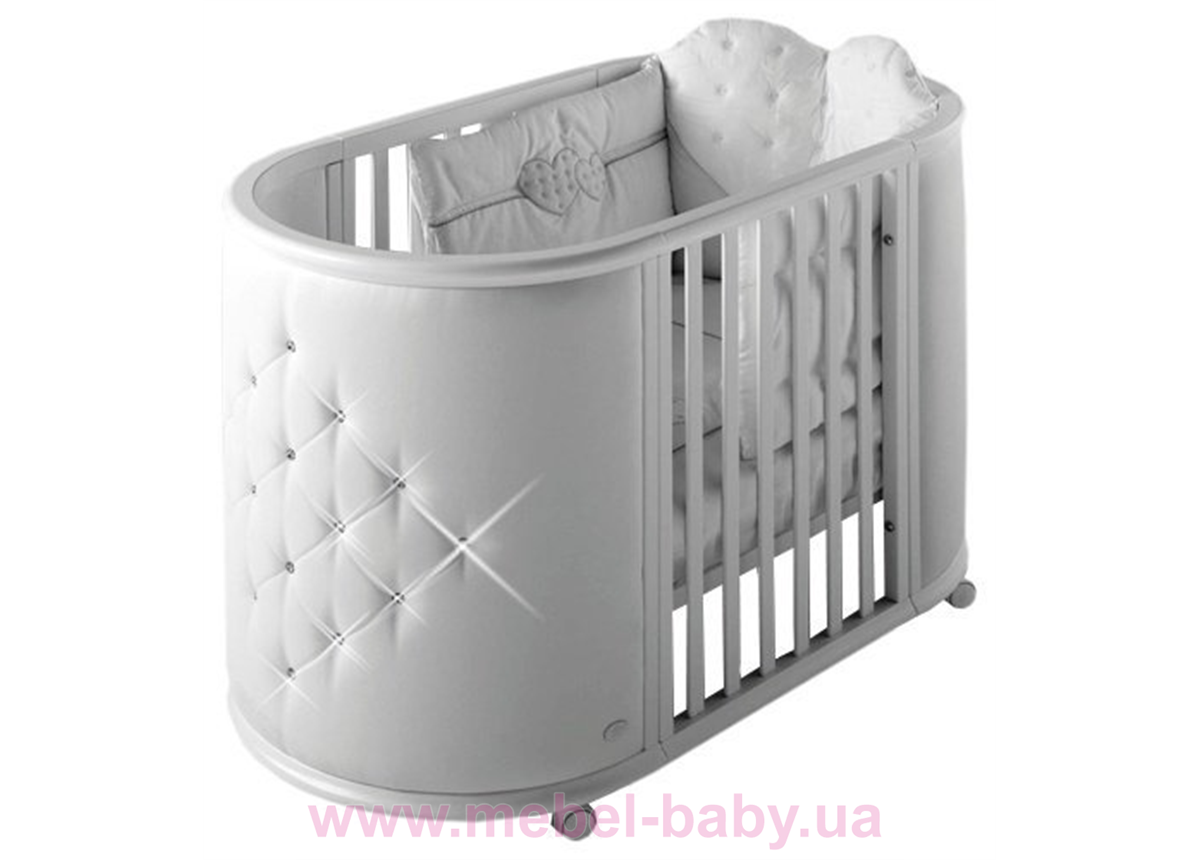 Кроватка LUX CRIB IngVart белый 60x80