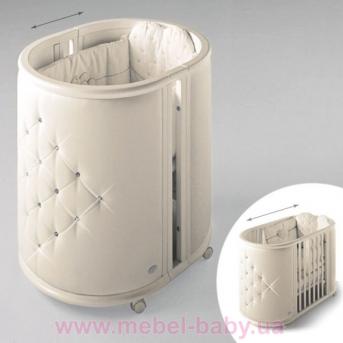 Кроватка LUX CRIB IngVart молочный 60x80