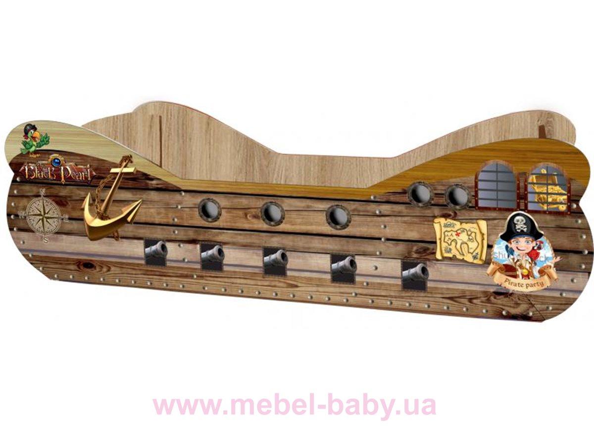 """Кровать """"Пиратский корабль"""" KP-0003 Viorina-Deko 80x160"""
