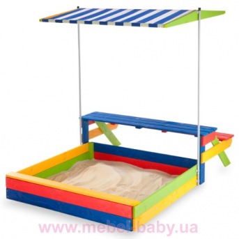 Детская деревянная песочница Песочница -20 Sportbaby