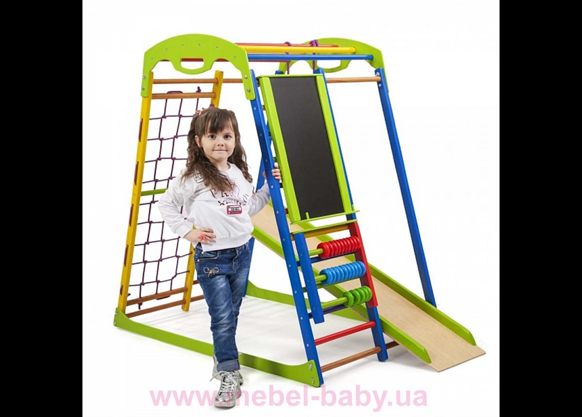 Детский спортивный комплекс для дома SportWood Plus Sportbaby