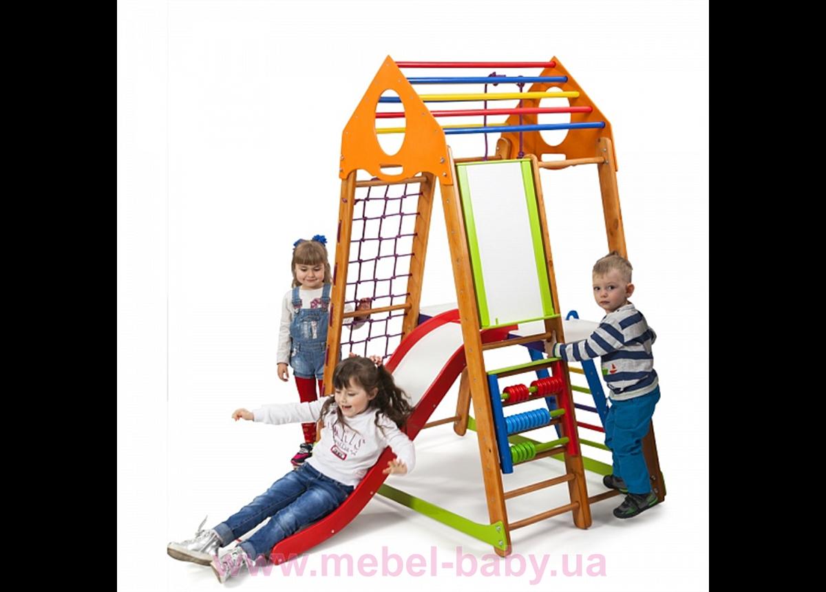 Детский спортивный комплекс BambinoWood Plus 3 Sportbaby