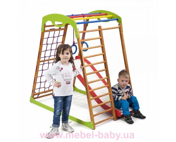b9c14d629b91 👶 Детский спортивный комплекс для дома BabyWood Plus 1 Sportbaby ...
