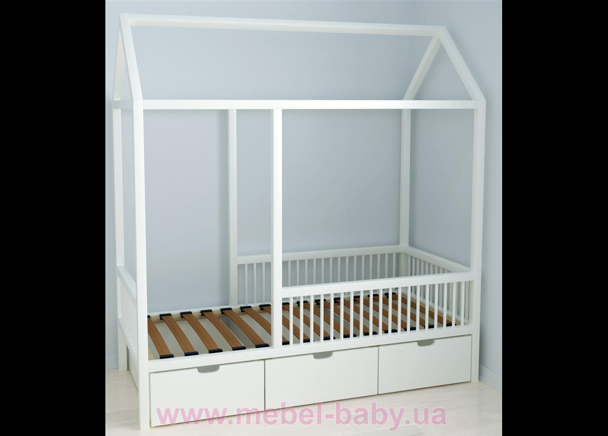 Кровать-домик BabyLodge 001 IngVart 70x160