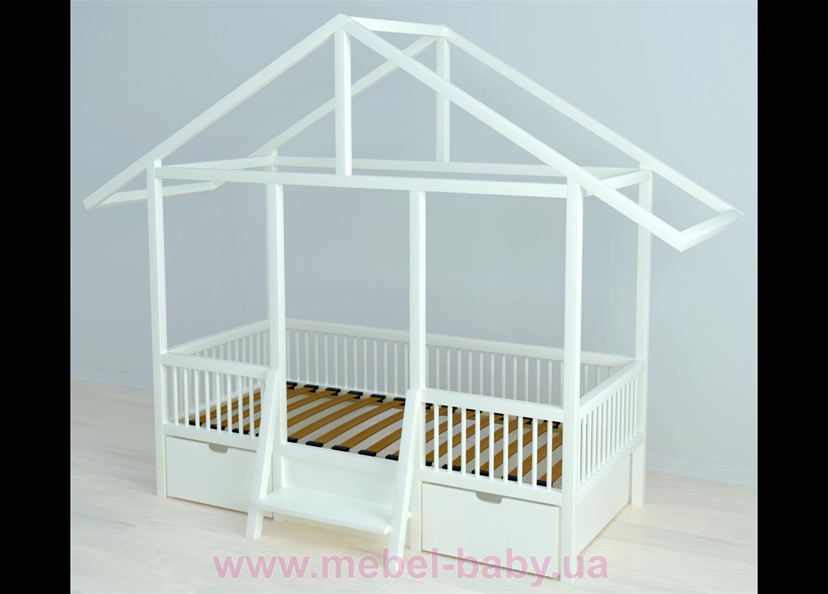 Кровать-домик BabyLodge 004 IngVart 70x160