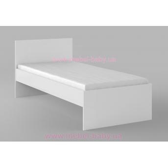 425_Кровать 90х190 Uni White