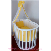 Круглая кроватка Mercy-Mama MUSTY Playpen 70x110 Mamma