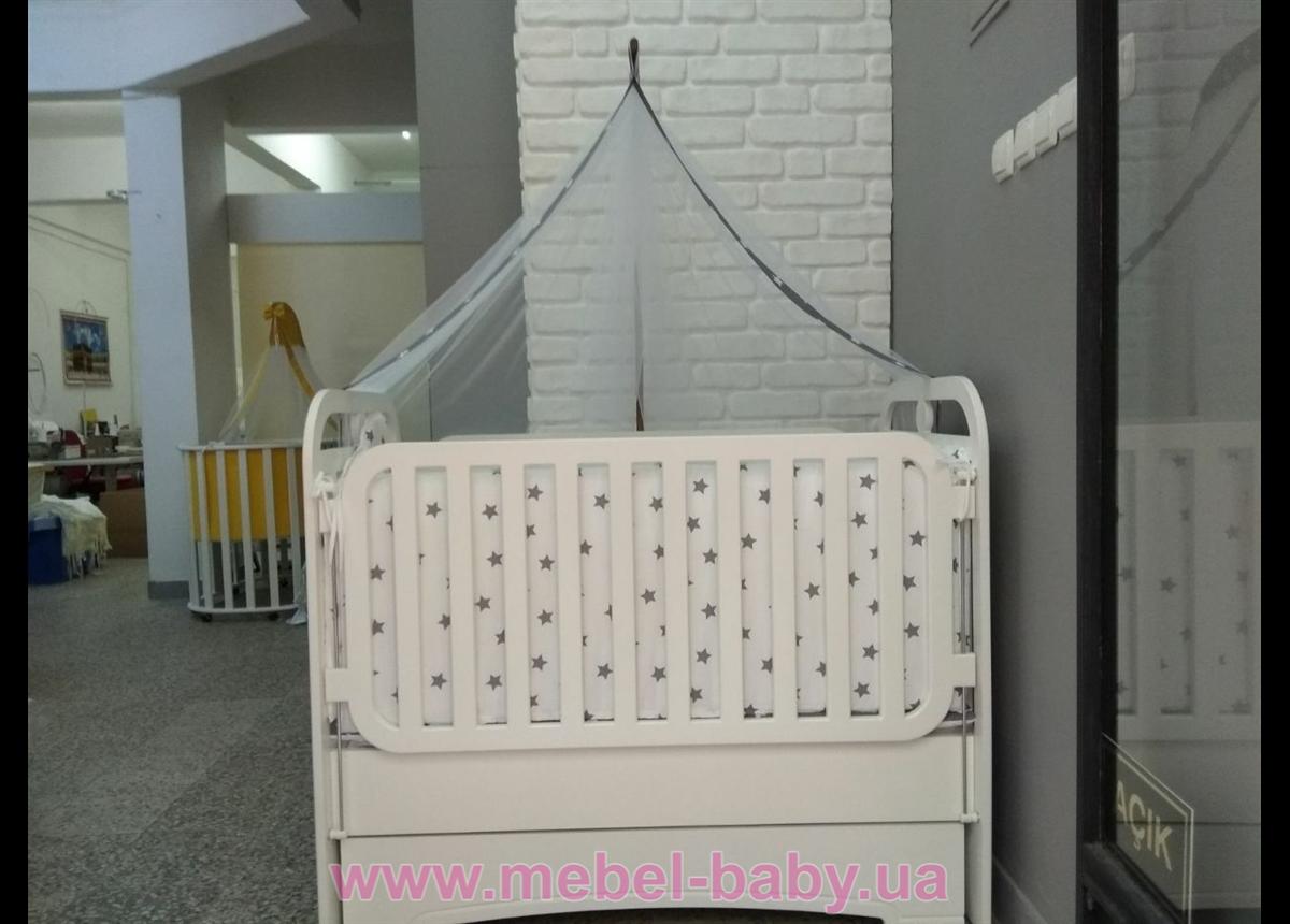 Распродажа Кроватка с маятниковым механизмом поперечного качания Mercy-Mama Mama 60x120 Mamma