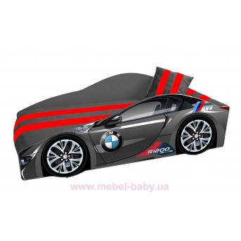 Кровать-машина BMW E-1 Элит Viorina-Deko 70x150 мягкий спойлер + подушка